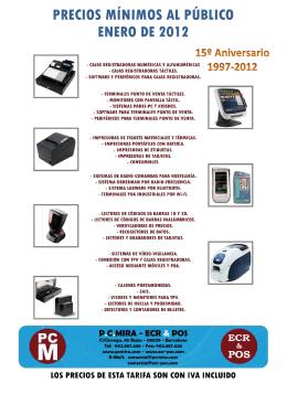 Catálogo PC Mira