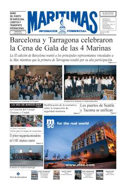 Barcelona y Tarragona celebraron la Cena de Gala de las 4