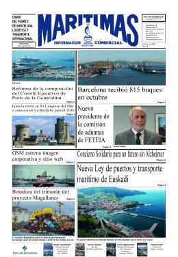 1ª práctica de puerto en España - grupo editorial men-car