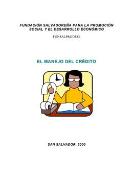 EL MANEJO DEL CRÉDITO