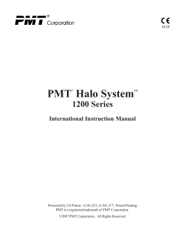 10143-002 Rev. 2 International Halo Manual