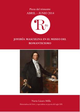La joyería masculina en el Museo del Romanticismo
