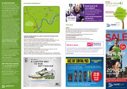 2014 Robin Hood Marathon Route