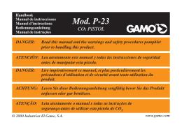 Manual P-23 (5 idiomas) abril 2007.pmd