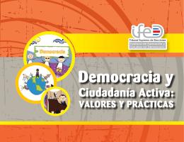 Democracia y Ciudadanía Activa - Tribunal Supremo de Elecciones