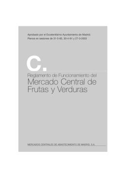 Reglamento Especifico del M.C. de Frutas y