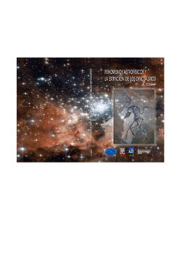 Fenómenos astrofísicos y la extinción de los dinosaurios