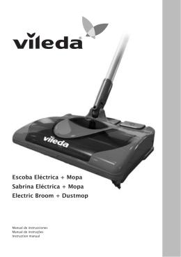 Escoba Eléctrica + Mopa Sabrina Eléctrica + Mopa Electric Broom +