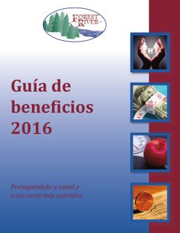 Guía de beneficios 2016