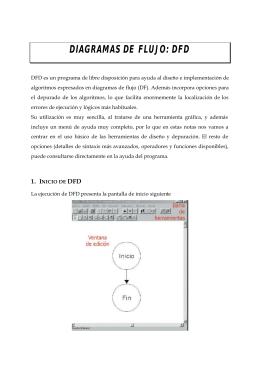 DIAGRAMAS DE FLUJO: DFD