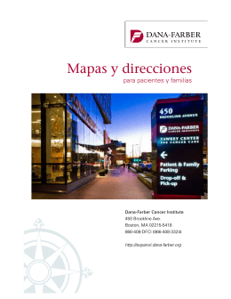Spanish Maps and Directions