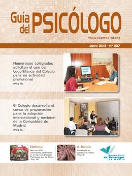 Noticia A fondo El Colegio desarrolla el curso de preparación para