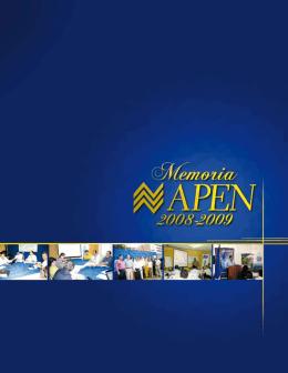 Memoria 2008- 2009