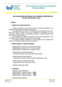 """""""Ciutat de Xàtiva"""" - Ajuntament de Xàtiva"""