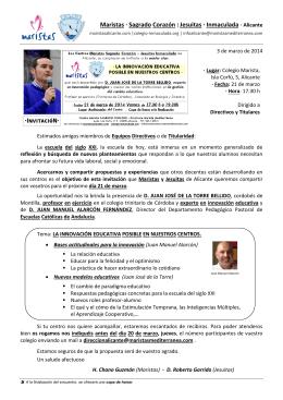 Maristas · Sagrado Corazón| Jesuitas · Inmaculada · Alicante