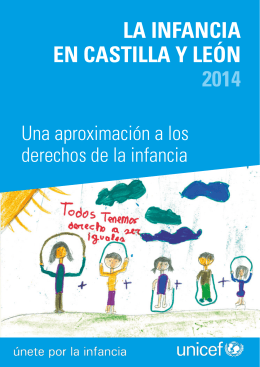 LA INFANCIA EN CASTILLA Y LEÓN 2014