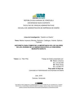 república bolivariana de venezuela universidad