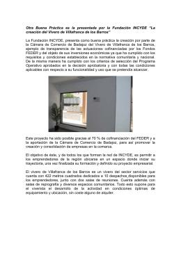La creación del Vivero de Villafranca de los Barros