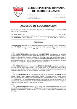 CLUB DEPORTIVO HISPANIA DE TORREDELCAMPO