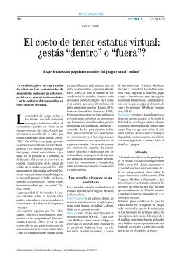 """El costo de tener estatus virtual: ¿estás """"dentro"""" o """"fuera""""?"""