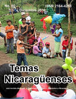 No. 80  - Revista de Temas Nicaragüenses