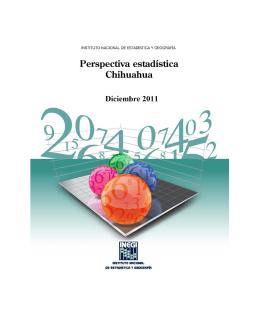 Perspectiva Estadística. Chihuahua. Diciembre 2011