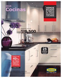 Catálogo IKEA Cocinas 2015