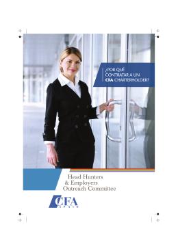 ¿Por qué contratar a un CFA charterholder?