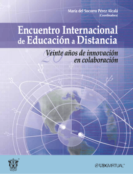 Encuentro Internacional de Educacióna Distancia