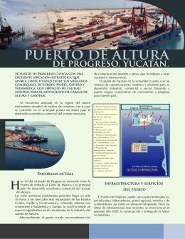 PUERTO DE ALTURA - Secretaría de Fomento Económico