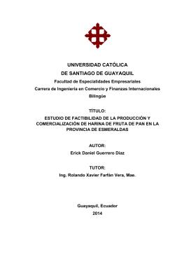 carátula universidad católica de santiago de guayaquil