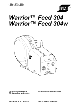 Warrior™ Feed 304 Warrior™ Feed 304w