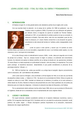 John locke - Revista Iberoamericana de Educación