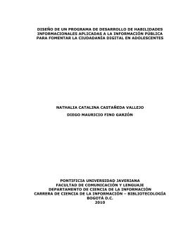 Trabajo de grado - Pontificia Universidad Javeriana