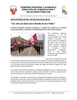 004-2013 Batalla de San Pablo