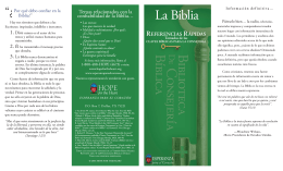 Referencia Rapida – Biblia Es confiable