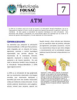 ATM - Apoyo para la Fac. de Odontología – USAC