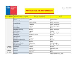 Fecha: 15-11-2013 Decreto MINSAL Principios - Gob.cl 2010-2014