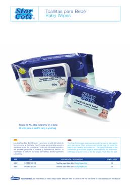Toallitas para Bebé Baby Wipes