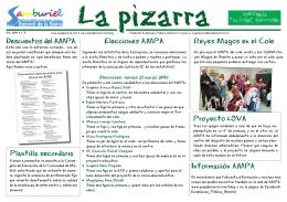la pizarra_03.indd - AMPA Samburiel Becerril de la Sierra