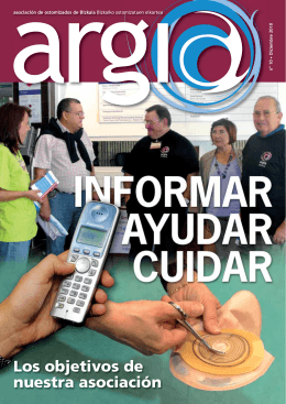 Revista 10 - ARGIA. Asociación de ostomizados de Bizkaia