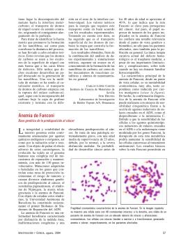 Anemia de Fanconi - Red Nacional de Investigación Cooperativa