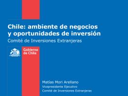 Inversiones Extranjeras - Nederlandse ambassade in Chili