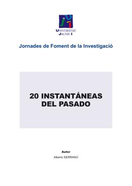 20 INSTANTÁNEAS DEL PASADO