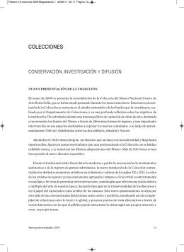 Colecciones - Museo Nacional Centro de Arte Reina Sofía