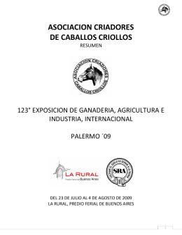 ASOCIACION CRIADORES DE CABALLOS CRIOLLOS