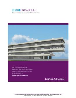 Catálogo Servicios ESADECREAPOLIS