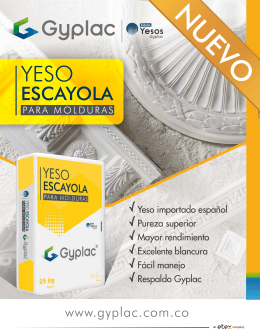 YESO ESCAYOLA GYPLAC