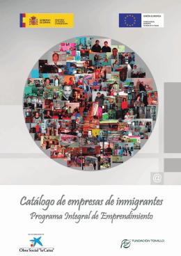 Catálogo de empresas de inmigrantes
