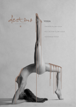 · VINYASA FLOW YOGA · HOT DETOW FLOW YOGA · ASHTANGA